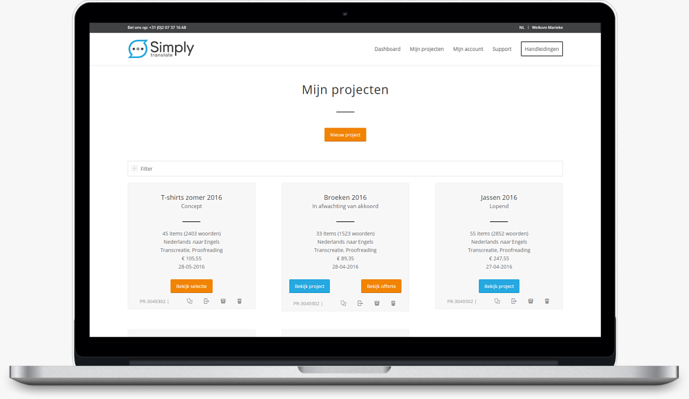 simply translate platform projects